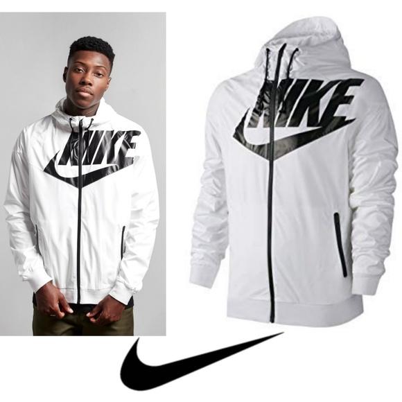 da6f1a0d2 Nike mens white windrunner gx1 windbreaker jacket.  M_5c4f38f2f63eea3bd0bba90b
